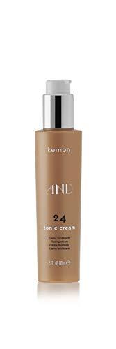 Kemon AND 24 Tonic Cream - kräftigendes Haar-Tonikum verhindert Frizz und spendet dem Haar Feuchtigkeit, Haar-Pflege in Friseur-Qualität - 150 ml