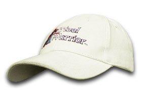 Steel Warrior Frost Cutlery White 100% Cotton Hat Baseball Cap