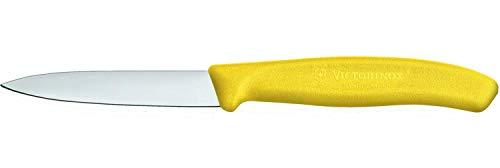 VICTORINOX V6.7606.L118 Cuchillo, acero inoxidable, amarillo, mediano