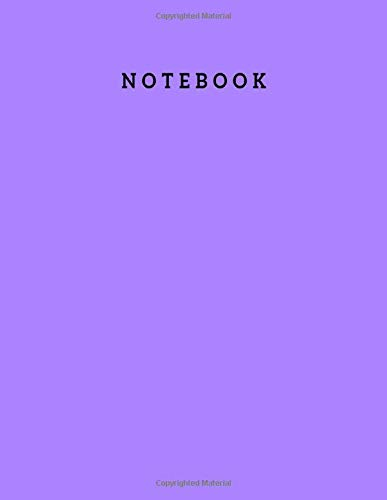 Notebook: Blank Notebooks and Journals for Boys and Girls - Unlined 100 Pages 8.5x11 Inch Large Plain White Notebook, Travel Journals for Students, ... Cover & White Paper Plain Writing Notebook