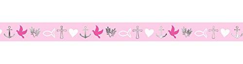 Ursus 59080020 - Masking Tape Religion, ca. 15 mm x 10 m, pink