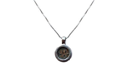 Collana Moneta Romana   Vera Bigiotteria dell'antica Roma!   Monetina Antica in Bronzo Originale della