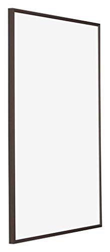 yd. - 30x45 cm - Bilderrahmen von Kunststoff mit Acrylglas - Ausgezeichneter Qualität - Antrazit - UV-beständige Glasplatte - Antireflex - Fotorahmen - Evry.