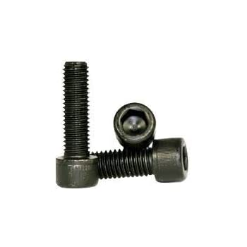 Black Oxide Coarse Thread Hex Socket Length: 1//2 inch Alloy Steel 1//4 inch Hexagonal Allen Bolt Socket Low Head Cap Screw Quantity: 100 1//4-20 x 1//2