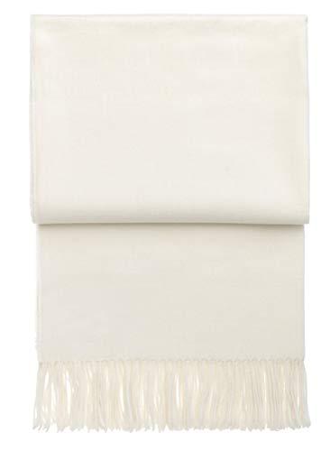Elvang Decke Luxury Baby Alpaka Wolle weiß 130 x 200cm