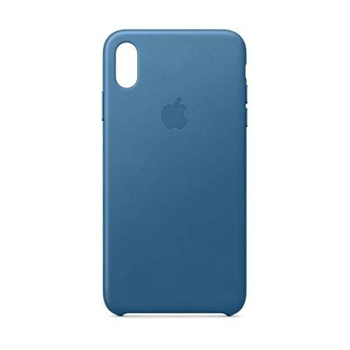 Apple Custodia in pelle (per iPhoneXSMax) - Cape Cod Blue
