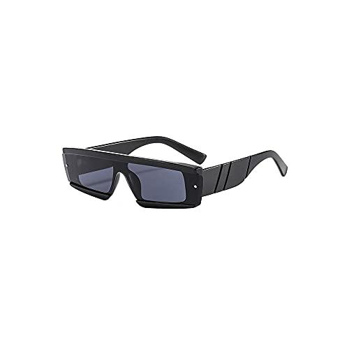 YUZHUKKKPYZ NSMJ - Gafas de sol polarizadas para hombre, marco pequeño, polarizador de plástico, adecuado para gafas de sol de hombre, se puede utilizar para gafas de sol decorativas