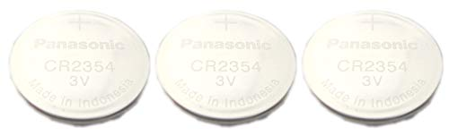[ Pack of 3 ] Panasonic CR2354 3V Lithium Cell Battery-Bulk Packaging