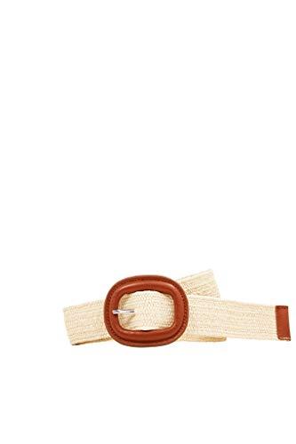 ESPRIT Flecht-Gürtel mit bezogener Schnalle