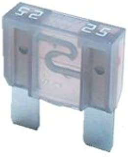 2 X Flachstecksicherung Maxi Sicherung 25a 32v Grau Auto