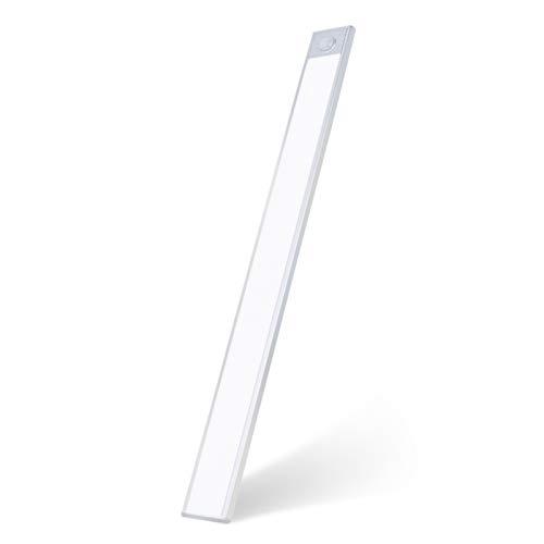 LED Bewegungsmelder Schrankleuchten, Nachtlicht Schranklicht, Kleiderschrank Lampen Unterbauleiste Beleuchtung Küchenlampen, Schrankbeleuchtung Sensor Licht
