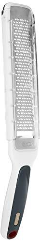 Zyliss E900033U Rallador de escofina SmoothGlide, Nogal, blanco