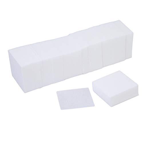 Idiytip 325 Pcs Doux Nail Art Lingettes Super Absorbant Nail Lingettes Acrylique Gel Conseils Remover Coton