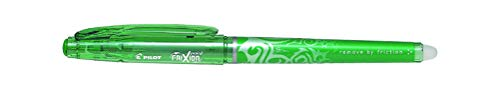 Stylo roller Frixion pointe 0,5 mm couleur Verte