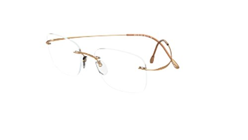 Eyeglasses Silhouette TMA Must Collection 2017 (5515) 7530 True Gold 54/21/160