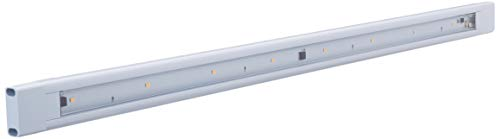GE 24 Inch LED Under Cabinet Light Fixture, Plug in, 3000K Soft Warm White 315 Lumens, 5 Foot Cord, On/Off Twist Switch, Perfect for Kitchen, Office, Garage, Basement, Workbench and More, 32812