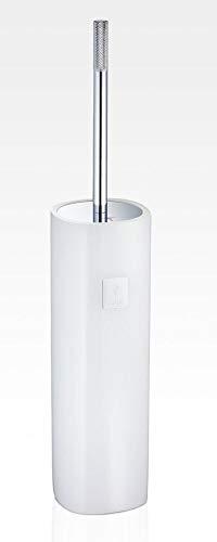 Joop! Crystal LINE freistehende WC-Bürstengarnitur Farbe Weiss
