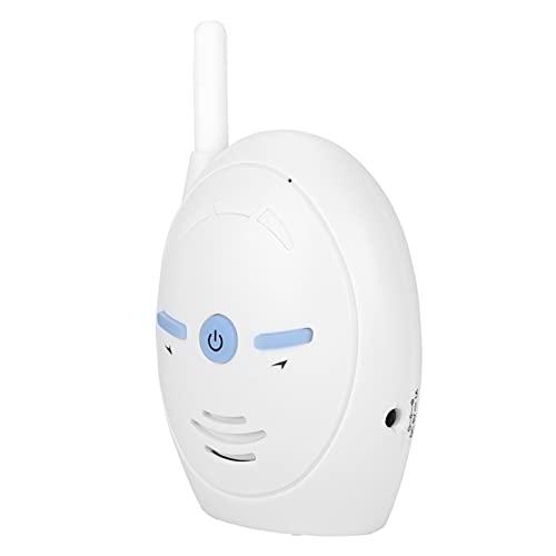 QXQX Monitor de bebé niñera con Alarma electrónica walkie-Talkie de Audio Digital inalámbrico de 2.4ghz UK 100-240v