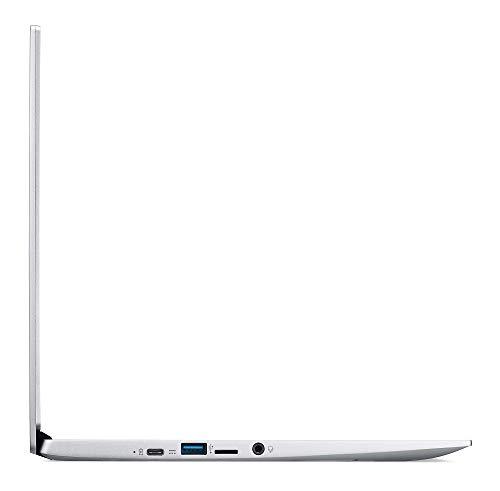 Acer Chromebook 514 (14 Zoll Full-HD IPS Touchscreen matt, Alu Unibody, 17mm flach, extrem lange Akkulaufzeit, schnelles WLAN, beleuchtete Tastatur, MicroSD Slot, Google Chrome OS) Silber - 3