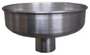ノーブランド品 クローズドラム缶用 アルミ製簡易ロート k5a