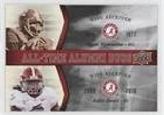 Ozzie Newsome; Julio Jones (Football Card) 2012 Upper Deck University of Alabama - All-Time Alumni Duos #ATAD-NJ