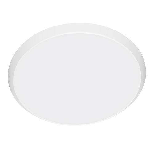 LED Lámpara De Techo 36W Moderna Plafón Led De Techo Redonda Ultra Delgado Impermeable 3000LM 6000K Baño Pasillo Cocina LED Plafón para Dormitorio Cocina Sala De Estar Comedor