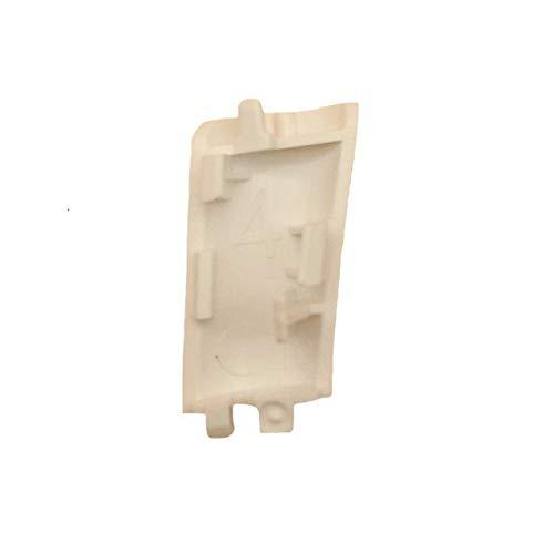 4 piezas/Set Tapa de la Antena Cubiertas de Aterrizaje Caso de Reparación de Piezas Para DJI Phantom 4 Pro, color Blanco