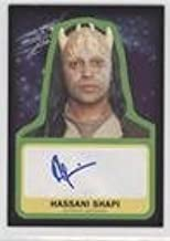 Hassani Shapi; Eeth Koth (Trading Card) 2015 Topps Star Wars: Journey to The Force Awakens - Autographs #HASH