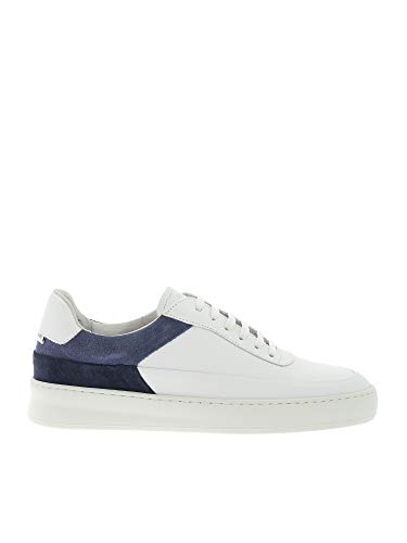 Filling Pieces Luxury Fashion Herren 42127991925MEB Weiss Leder Sneakers | Frühling Sommer 20