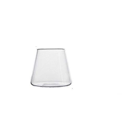Vasos de agua transparente taza de café leche taza whisky cóctel copa hogar zumo bebida secadora cocina bar
