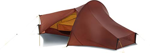 Nordisk Telemark 1LW Tent, Red (Burnt Red), One Size