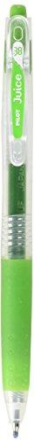 PILOT Juice 0.38mm Gel Ink Ballpoint Pen, Leaf Green (LJU-10UF-LG)