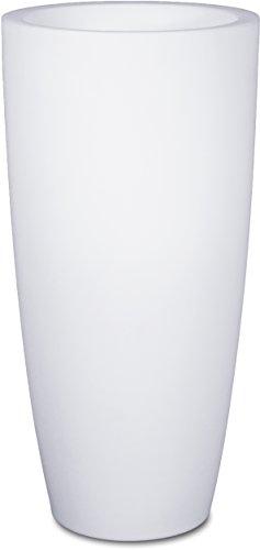 LUMENIO LED Pflanzgefäß Blumentopf Übertopf multicolor 15 verschiedene Farben (Ø 43cm / Höhe 90cm)