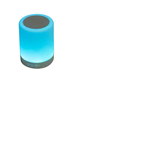 LED Touch Lamp 3 Watt Truly Wireless Bluetooth Portable Speaker Blue