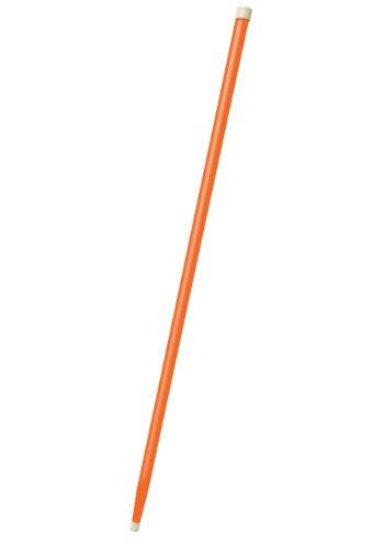 Wooden Orange Walking Cane Tuxedo Costume Accessory Standard