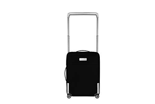Vocier Avant 4-Wheel Carry-On Luggage (Black)