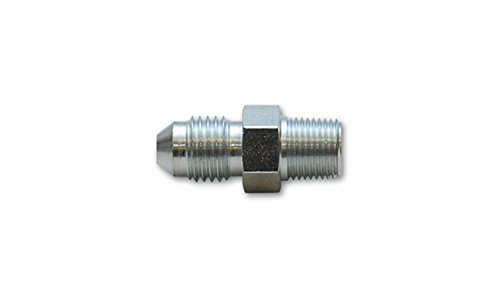 Vibrant Performance Power 10292 Fitting, Adapter, Straight, Male -4 AN to Male 1/8 in. NPT, Steel, each