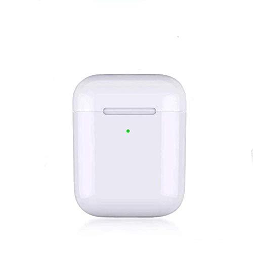 i9000 TWS Original Bluetooth 5.0 in-Ear Earbuds Headsets Sensor Support Wireless Charger Earphone Sport Headphones Stereo pk i20 i30 i12 i10 i60 i80 i1000 i200 (White) (ERTYUIOP)