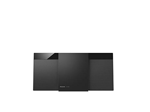 Panasonic SC-HC304EG-K Design-Stereo mit Digital DAB+ (Bluetooth, UKW, , CD, Micro- mit 20 Watt RMS) schwarz