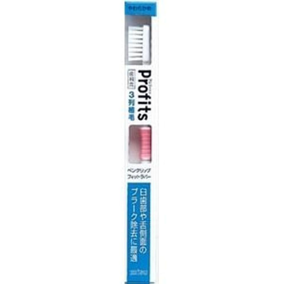 肺ブリッジ最少(まとめ)エビス BK-30Sプロフィッツ3列歯ブラシ やわらか(J 【×12点セット】