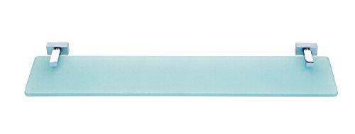 Baño Diseño Repisa 55 cm, Latón, Cromo Brillante