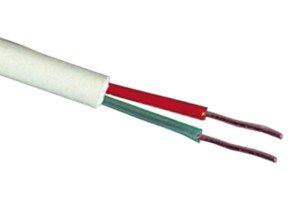 Cable telefónico manguera redonda 4 vías carrete de 100 m 4 x...