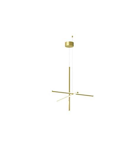 Flos Coordinates S1 Lampada da soffitto, Gold, 78,2cm
