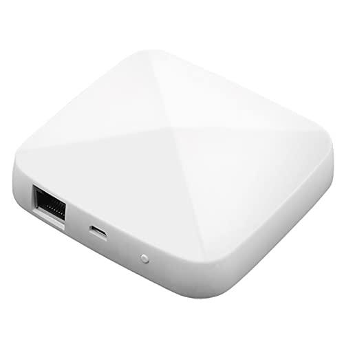 SOLE HOME Tuya ZigBee 3.0 Hub, Smart Wired ZigBee Gateway compatible con todos los dispositivos inteligentes ZigBee, compatible con Alexa Google Home, App Control remoto