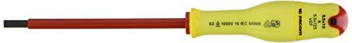 Facom A5.5X125VEF - DESTORNILLADOR RANURADO 5.5X125 VE FLUORESCENTE