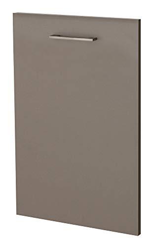 Smart Möbel Frontblende für vollintegrierten Geschirrspüler 60 cm Quarz-Cubanit Dekor - Rodello