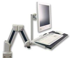 Ex-Pro Haltearm für TFT / LCD-Monitore und Tastaturarm / -ablage