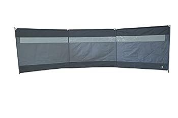 Bo-camp - Paravent - Season avec fenêtre - 3 compartiments - 5 x 1,4 mètres