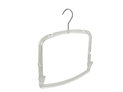 De Kledinghanger Gigant - 15 x Bikinihanger transparant met knijpers 30 x 16 cm