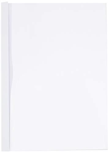 Leitz 177159 Thermobindemappe Standard, A4, Rückenbreite 3 mm, 100 Stück, weiss